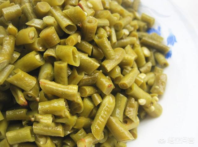 酸豆角的腌制方法,酸豆角如何泡最好吃?