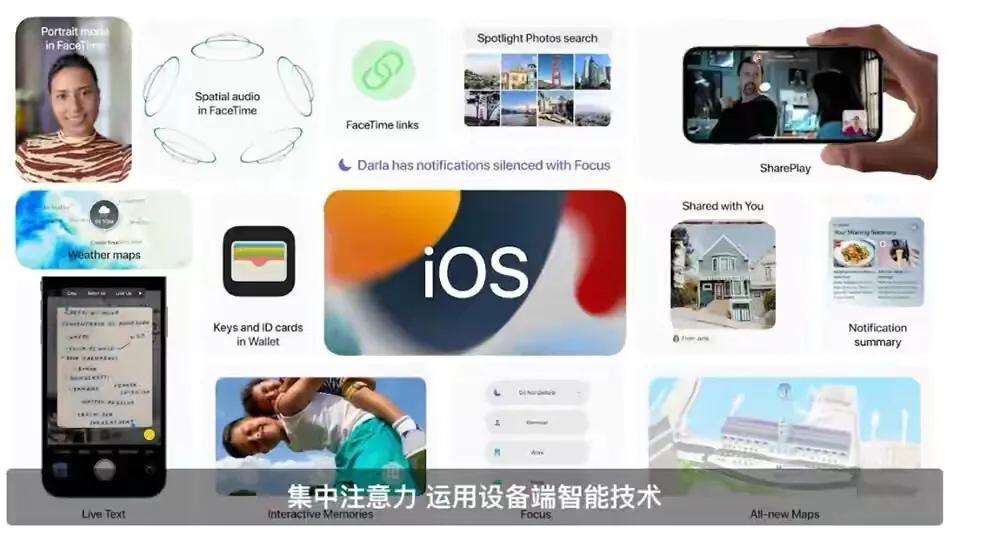 苹果发布iOS15,多项功能全面升级,让人期待